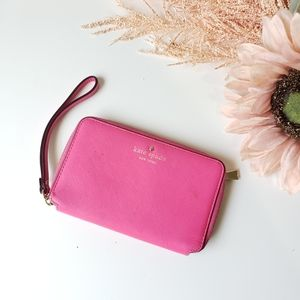 Kate Spade bifold zipper wallet wristlet